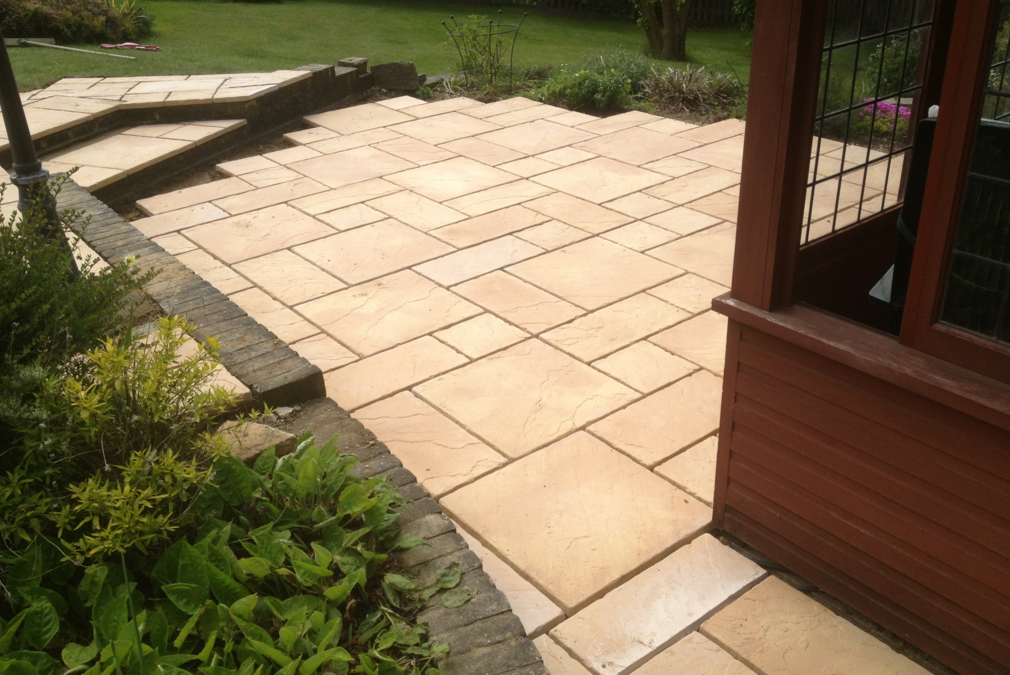 Patio Landscaping in Stevenage