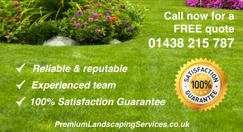 Professional Landscapers in Stevenage
